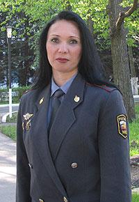 Руководитель пресс-службы Управления МВД России по городу Иркутску майор внутренней службы Инга Шайдурова