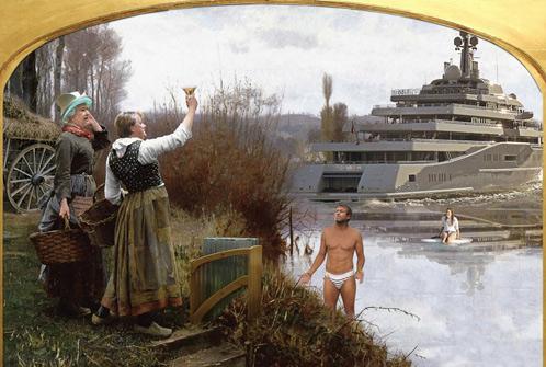 Роман Абрамович с яхтой у ставших ему родными британских берегов