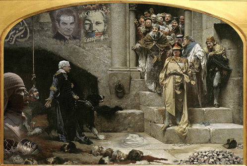 Политическая элита России в шуточном календаре за 2012 год