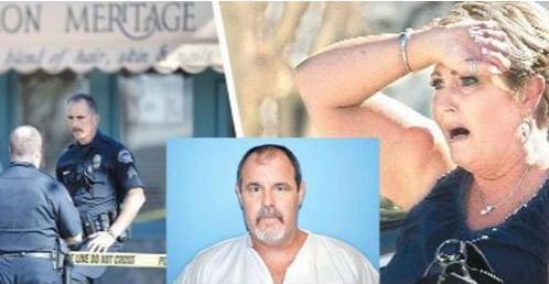 42-летний отставной солдат устроил кровавую бойню на работе своей бывшей жены