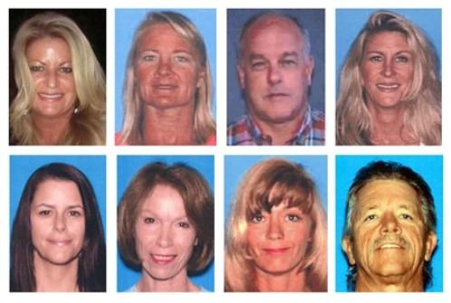 Жертвы калифорнийского
