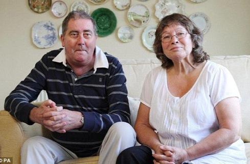 Aлан и его жена Джанет.
