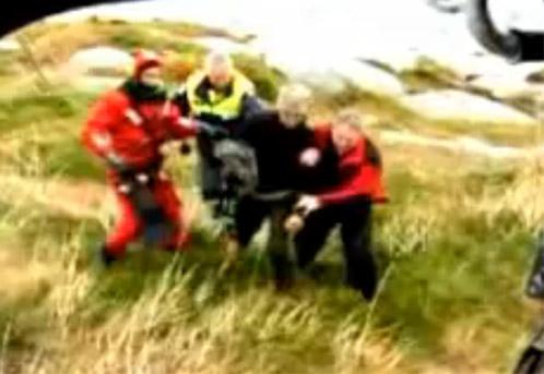 Сергею с трудом давались последние шаги до вертолета спасателей.