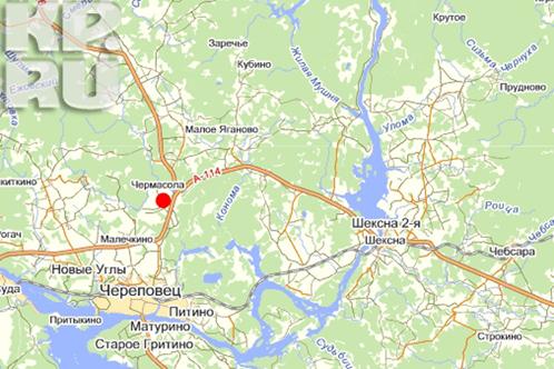 Вологда - Череповец.