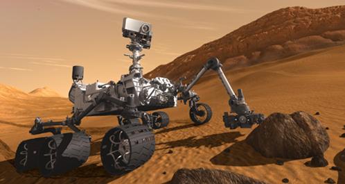 Марсоход, который полетит в ноябре на Марс искать воду. Или железную дорогу
