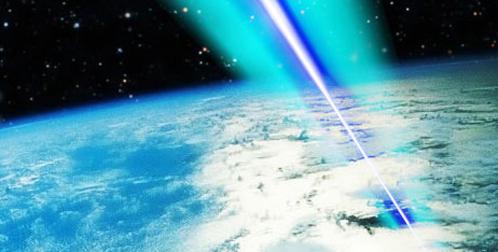 В случае чего из шайтан-лазера можно пальнуть по злобным пришельцам