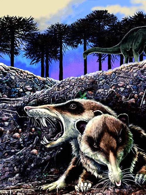 Так в представлении палеонтологов и художника выглядела реальная