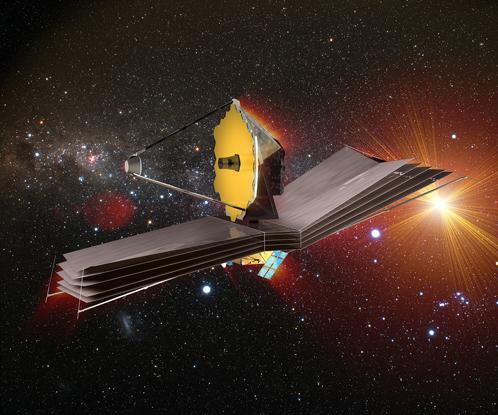 Новый орбитальный телескоп James Webb Space Telescope, который позволит увидеть искусственное освещение на других планетах