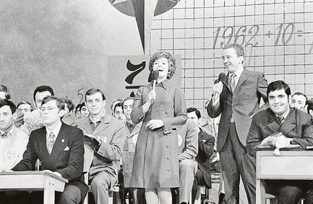 Светлана Жильцова и Александр Масляков начинали КВН еще в 60-е годы.