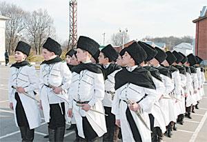 Ингушский кадетский корпус - один из самых престижных на Северном Кавказе.