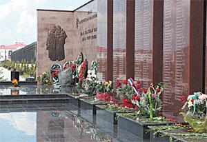 В республике свято чтут память погибших.