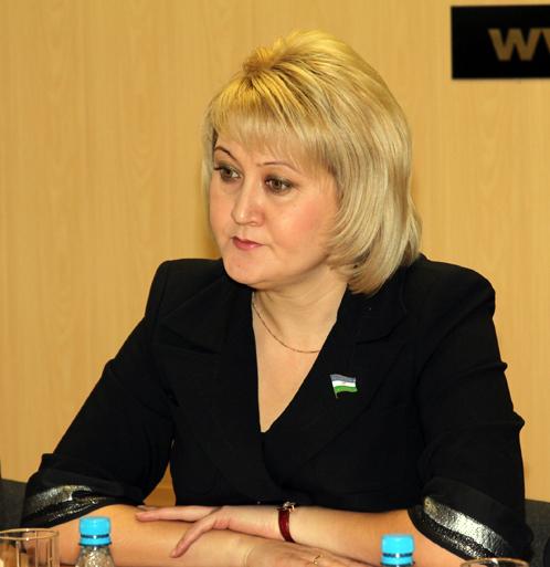 Региональный координатор проекта «Образование» Лилия Гумерова