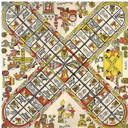 Возможно, Патолли символизировала 4 стороны света и 4 времени года.