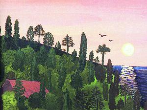 Синельников сам иллюстрирует некоторые свои книги, считая, что мягкие цвета и пейзажи способствуют гармонии.