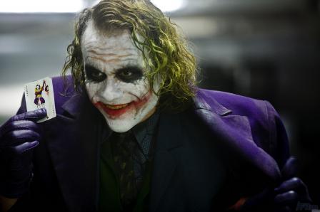 Легендарый Джокер в исполнении Хита Леджера
