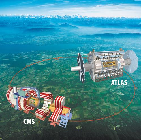 Детекторы, с помощью которых ученые рассчитывают поймать бозон Хиггса