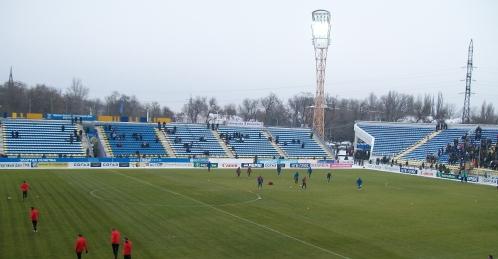 """Трибуны стадиона """"Олимп-2"""" за"""