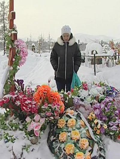 Анастасия приехала на похороны матери из Хабаровска