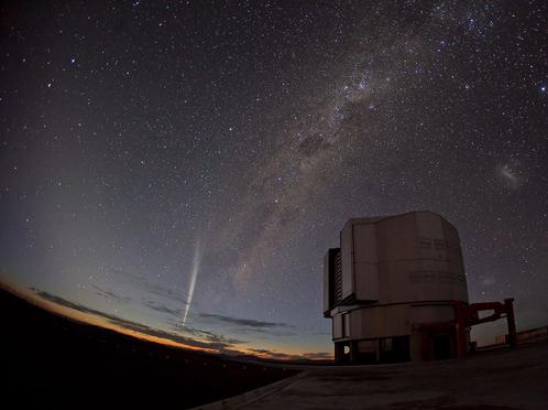 Снимок Южной европейской обсерватории:
