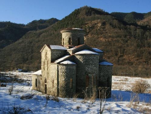 Такое церкви строили первые христиане в Карачаево-Черкесии.