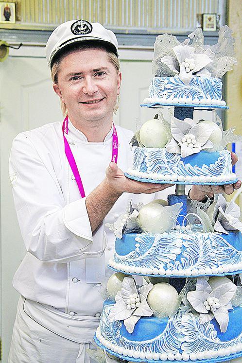 Торты оформление блинного торта