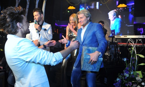 Диму поздравляет Николай Басков.