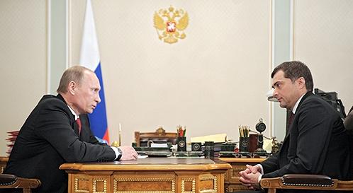 Лондон...Сурков предлагает себя преемником Путина?