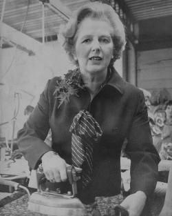 Тэтчер покупала гладильную доску в резиденцию за свой счет и отказалась от лишнего белья