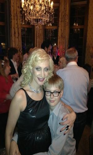 Кристина Орбакайте с сыном Дени.