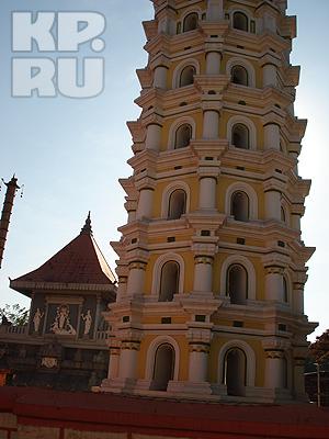 Тот самый храм на Гоа, который помог Наталье и Вадиму зачать ребенка