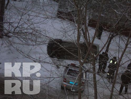 От линчевания водителя авто спасли гаишники.