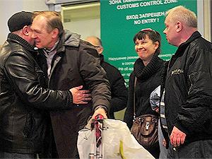 В понедельник вечером в аэропорт Шереметьево прибыла еще одна группа туристов