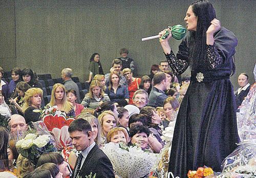 Певица показала, что не только петь умеет, но еще защищать интересы публики.