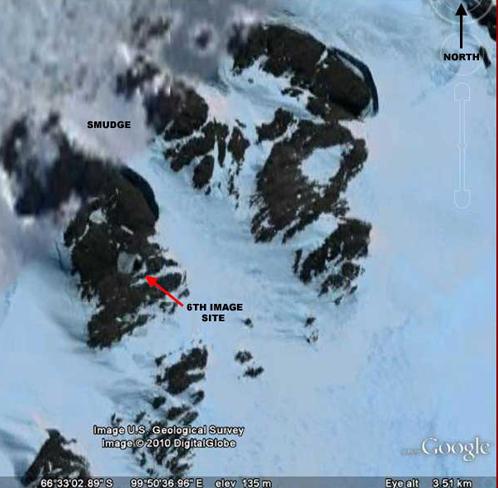 Дырка внутрь Антарктиды