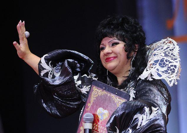 Президент конкурса красоты Алла Маркина