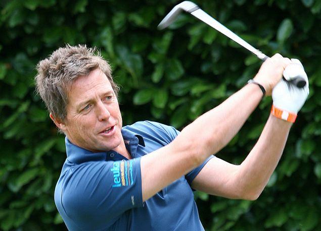 51-летний Хью обожает тенинс, крикет и футбол, но главная его страсть - гольф.