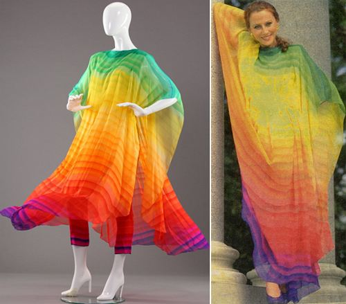 Майе Плисецкой платье «Радуга» подарил сам Пьер Карден.