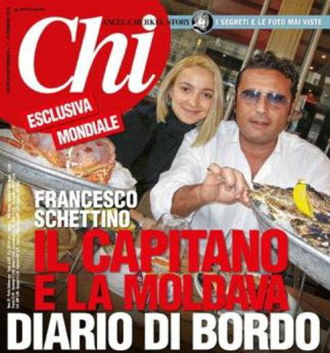 За месяц до крушения парочка - Домника и Франческо - обедали в дорогом ресторане.