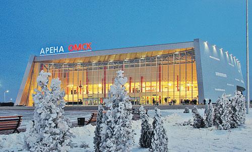 этот ледовый дворец на 10 тысяч зрителей построен в омске по инициативе губернатора полежаева.