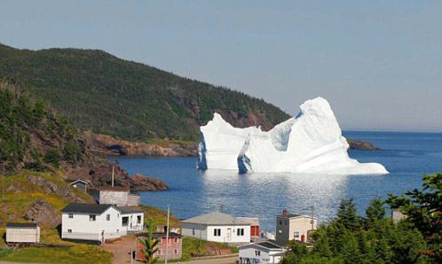 Обычно айсберги