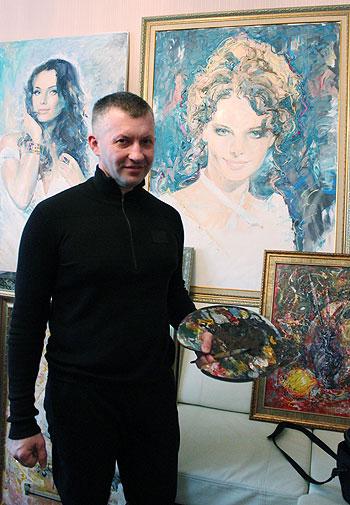 Портрет Лизы Боярской в апреле отправится на выставку в Москву.