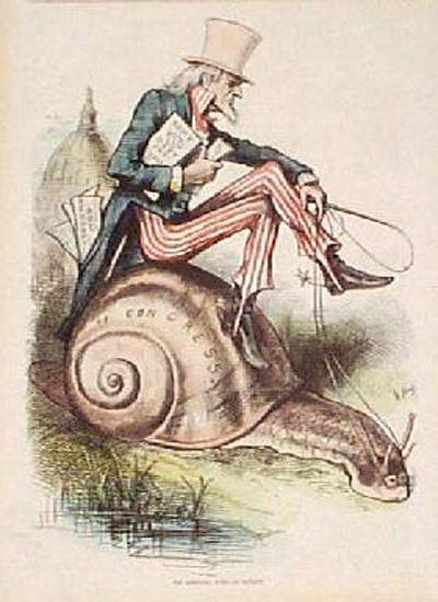 Томас Наст, 1877.