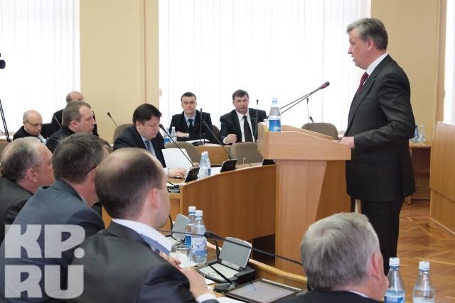 Публичные слушания о финансовой политике прошли сегодня в парламенте Вологодской области