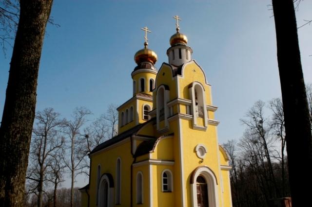 Новый православный храм в Железнодорожном