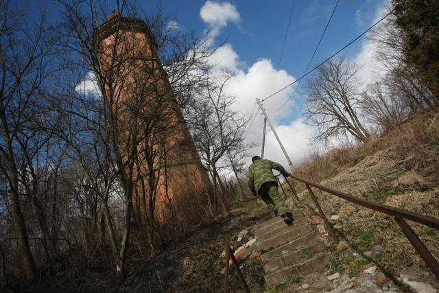 Немецкая водонапорная башня до конца прошлого года была действующей.