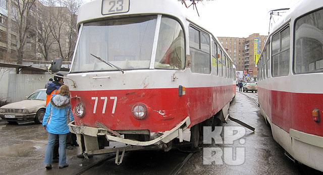 Трамвай 23-го маршрута сначал