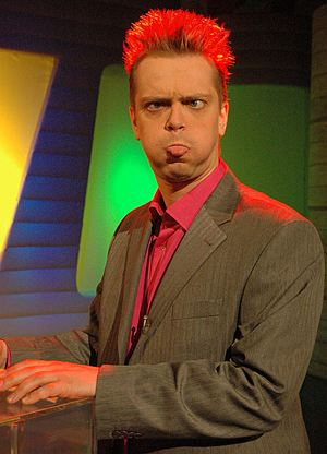 На ТВ главное - не бояться показаться слегка смешным.