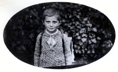 Йозеф Ратцингер, школьник. 1932 год