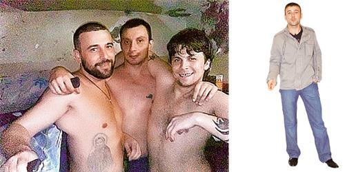 У Алексея Адеева есть шанс вернуться в проект после очередной ходки.  Фото слева он прислал из тюрьмы.