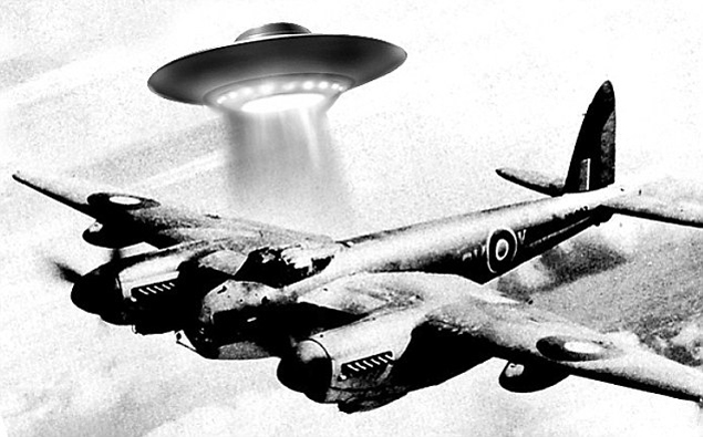 Черчилля взволновал случай встречи экипажа британского самолета-разведчика с НЛО во время войны